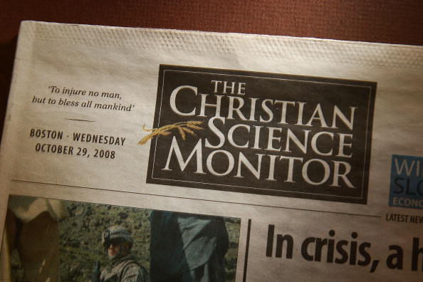 Christian Science Monitor Announces It'll Stop Publishing As A Daily